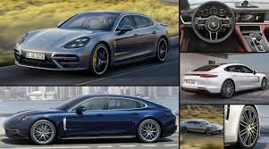 Porsche Panamera Facelift - 2017 porsche panamera second gen launched in india from rs