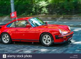 car porsche lviv ukraine june 4 2017 old retro car porsche 911 with its