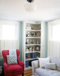 How To Build A Corner Bookcase 15 Ways To Diy Creative Corner Shelves