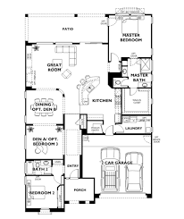 trilogy at vistancia suscito floor plan model home architecture