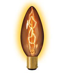 calex led light bulbs calex clear ll goldline filament lamp 240v 25w ba15d candle type