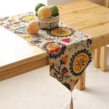 Modern Table Runners Buy Modern Table Cloth European Bohemia Cotton Linen Home Hotel