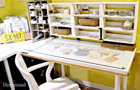 Diy Craft Desk With Storage by Furniture Exquisite Furniture For Craft Room Decoration Ideas
