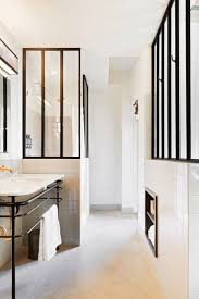 vintage black and white bathroom ideas bathroom wall decor pinterest transitional with white penny shower