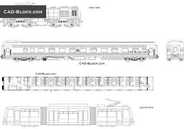 train carriage cad blocks free download