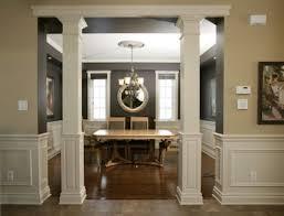 interior home columns square interior columns