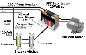 aac contactor wiring diagram contactor switch reverse polarity