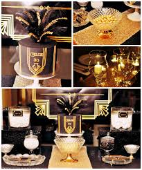 The Great Gatsby Themed Party Decorations