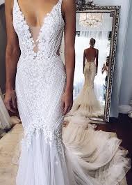 The 25 Best Mermaid Wedding Dresses Ideas On Pinterest Lace