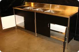 kitchen wonderful industrial sink unit 3 compartment sink