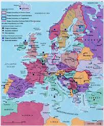 Ww2 Europe Map Dr A Kislenko Inside Europe After Ww2 Map Roundtripticket Me