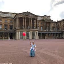 harper beckham celebrates her birthday at buckingham palace