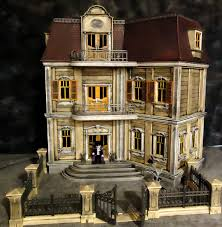playmobil haunted halloween victorian gothic mansion 5302 custom