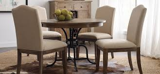 dining room sets with fabric chairs the nook a casual kitchen dining solution from kincaid furniture