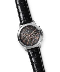 mens wrist watch torque nocturna grey u0026 rose gold dalvey dalvey