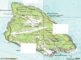 map of mackinac island 49757 zip code mackinac island michigan profile homes