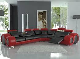 Corner Recliner Leather Sofa Designer And Black Corner Recliner Italian Leather Sofa