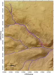 Oregon Waterfalls Map by Tumalo Creek Its Glaciated Valley And Spectacular Waterfalls