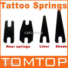 tattoo supplies shader springs u0026amp liner springs for tattoo