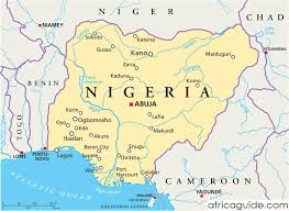 map of nigeria africa nigeria guide