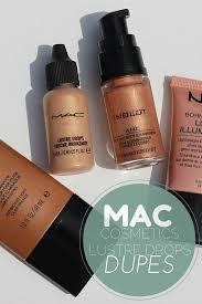 how to use mac liquid illuminator lustre drops 4 dupes makeup