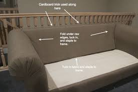 Upholster A Sofa Do It Yourself Divas Diy Strip Fabric From A Couch And Reupholster It