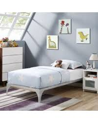 Steel Platform Bed Frame Find The Best Christmas Savings On Modway Ollie Kids Twin Steel