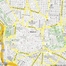 madrid spain map map of madrid spain hotels accommodation