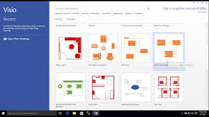 Home Floor Plan Visio by Entity Relationship Diagram Model With Visio Youtube