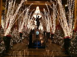 Waldorf Christmas Decorations Lobby At Christmas Picture Of The Roosevelt New Orleans A