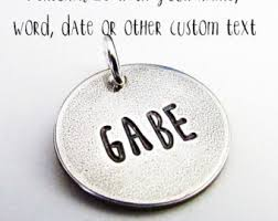 Engraved Charms Engraved Charms Etsy