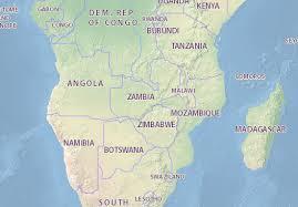 map of zambia map of zambia michelin zambia map viamichelin
