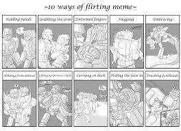 Tf Meme - tf flirting meme op ss by flutterjet on deviantart