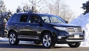 toyota jeep black 2013 toyota highlander limited 4wd review by stu wright northern