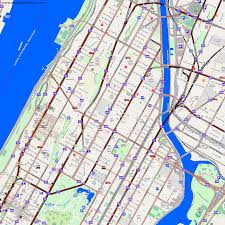 Map Of Harlem City Maps New York