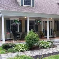 love the shutters and the colors front porch before and after