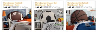 themed headboards upholstered sports themed headboards just 69 99 from 176