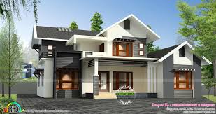 1500 sq ft home sloping roof mix 1500 sq ft home kerala home design bloglovin