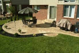 Wonderful Backyard Stone Patio Design Ideas Paver Patio Sitting - Backyard stone patio designs