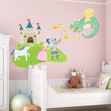 princess castle wall decal contemporary wall decals by hayneedle fairy tale castle printed wall decal