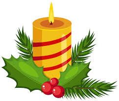 christmas holly candle transparent png clip art image gallery