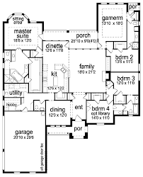 home plans homepw76422 2 454 square feet 4 bedroom 3 medium cost 344 850 one story 3135 square feet 4 bedrooms 3