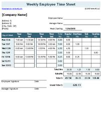 Excel Work Timesheet Template Sheet Template For Excel Timesheet Calculator