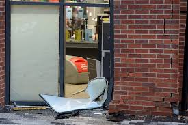 Weather Hale Barns Booths Supermarket In Hale Barns Hit By Two Cars In Attempted
