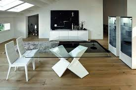 Modern Contemporary Dining Table Sapphire Dining Table By Rossetto Rossetto Dining Furniture