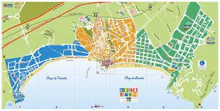 Plano Map Map Of Benidorm Benidorm All Year Round