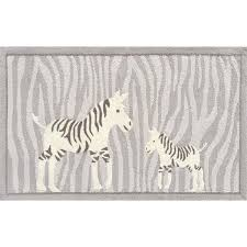 zebra kid u0027s area rug zebra rug papa and me