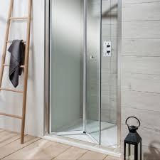 simpsons edge bi fold shower door uk bathrooms
