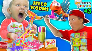 Michael Kitchen Falling Chases Corner Kitchen Jello Worms W Straws Diy Kids Cooking