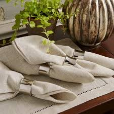how to set a table with napkin rings napkin rings place card holders food markers joss main